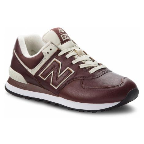 Sneakersy NEW BALANCE - ML574LPB Brązowy