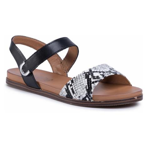 Sandały CAPRICE - 9-28103-24 Black Comb 019