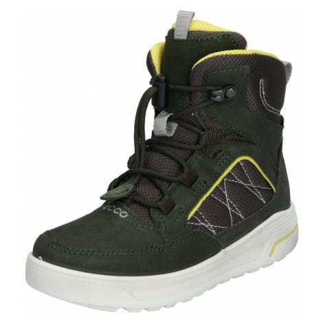 ECCO Śniegowce 'Urban Snowboarder' zielony / żółty