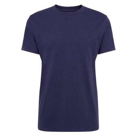 G-Star RAW Koszulka 'Premium r t ss' ciemny niebieski