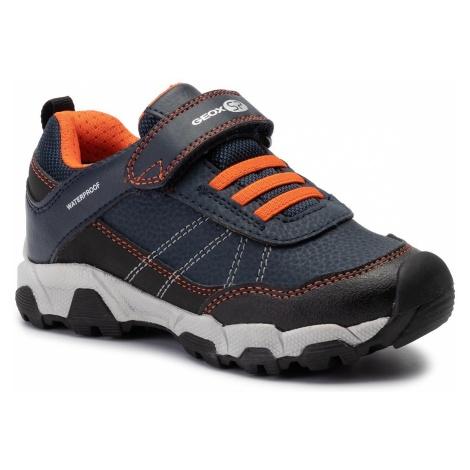 Sneakersy GEOX - J Magnetar B.Wpf A J94ACA 050BU C0820 S Navy/Orange
