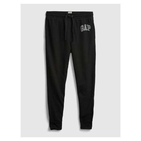 GAP czarny męskie spodnie dresowe z logiem