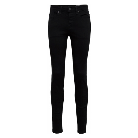 SELECTED HOMME Jeansy 'SHNSKINNY-PETE 1001 BLACK ST JNS W NOOS' czarny