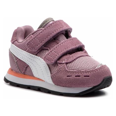 Sneakersy PUMA - Vista V Inf 369541 04 Elderberry/Puma White