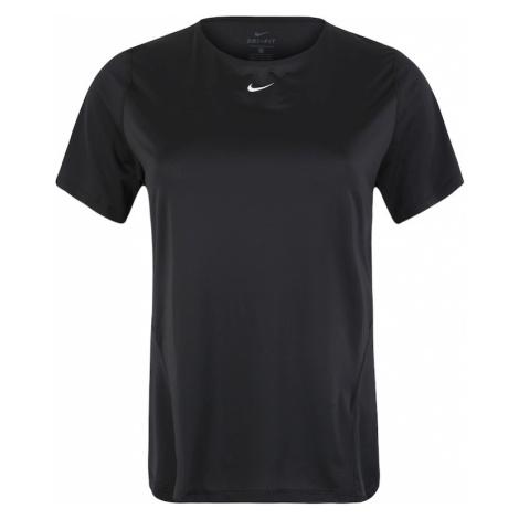 NIKE Koszulka funkcyjna czarny / biały
