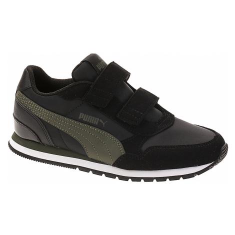 buty dziecięce Puma St Runner V2 NL V PS - Puma Black/Forest Night