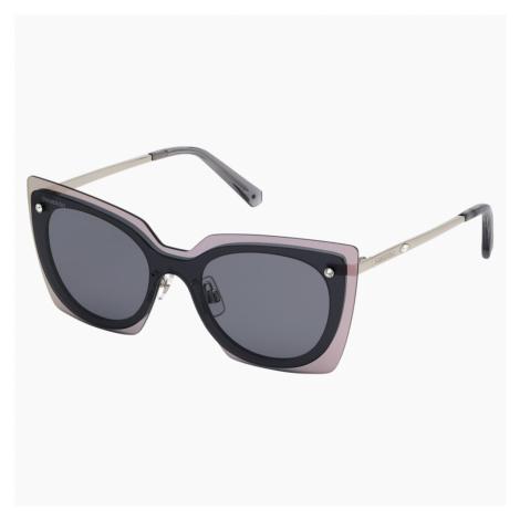 Okulary przeciwsłoneczne Swarovski, SK0201-16A, szare