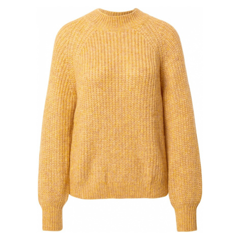 TOM TAILOR DENIM Sweter żółty