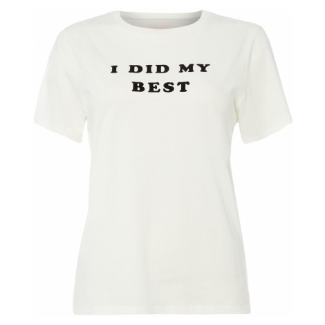 Bando I Did My Best Flocked T-Shirt