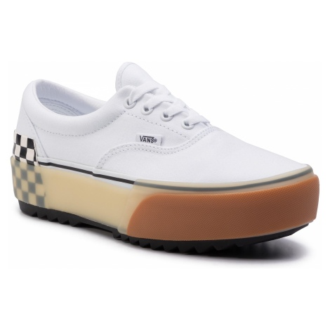 Tenisówki VANS - Era Stacked VN0A4BTOTDC1 White/Checkerboard
