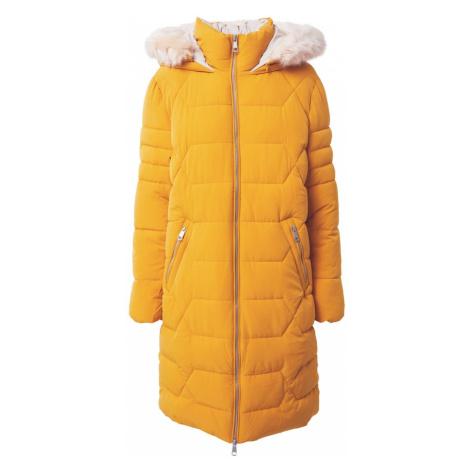 ESPRIT Płaszcz zimowy żółty