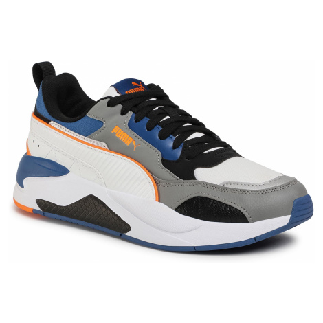 Sneakersy PUMA - X-Ray 2 Square Pack 374121 05 White/Gray/Orange/Limoges