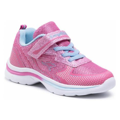 KangaRoos Sneakersy Kanga Glozzy Ev 18704 000 6242 Różowy