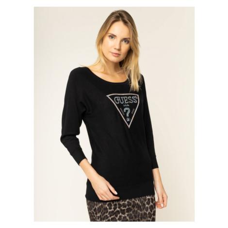 Guess Sweter Nadine W01R94 Z2760 Czarny Regular Fit