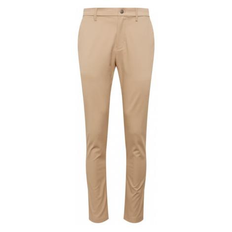 Calvin Klein Jeans Chinosy 'CKJ 026 SLIM CHINO STRETCH PANT' beżowy