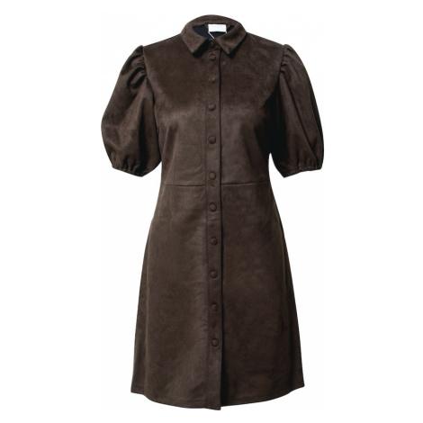 VILA Sukienka 'Faddy' brązowy