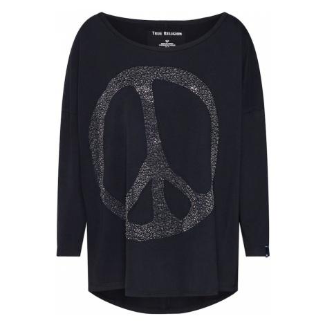 True Religion Koszulka 'LS PEACE' czarny