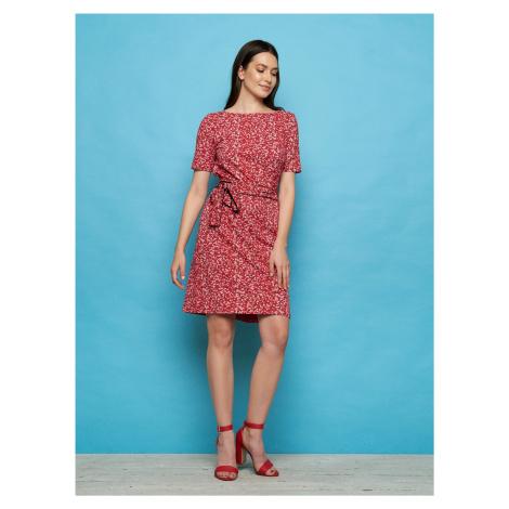 Tranquillo czerwona sukienka Enu