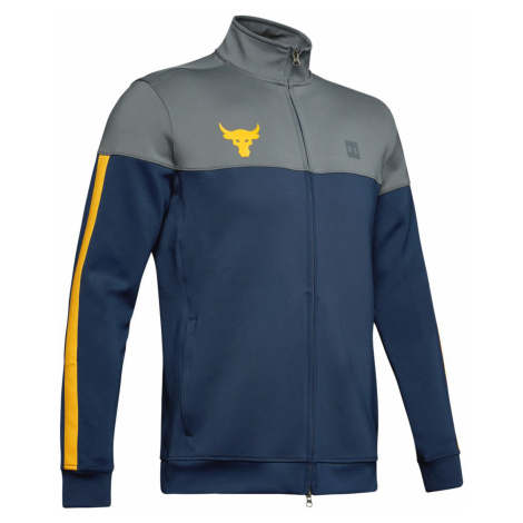 Under Armour Project Rock Bluza Niebieski