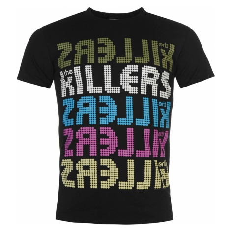 Official The Killers T Shirt Mens