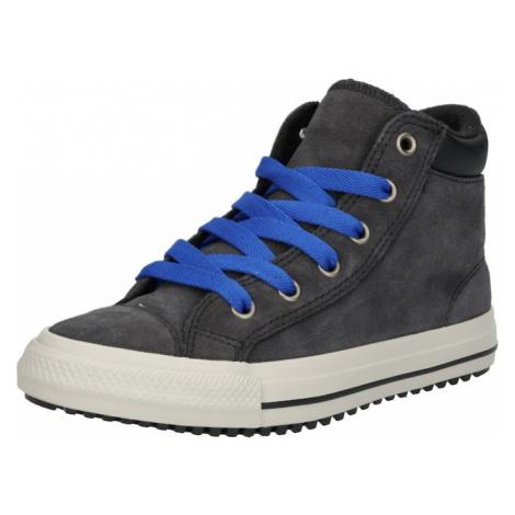 CONVERSE Półbuty 'Chuck Taylor All Star PC Boot Boots On' niebieski / czarny