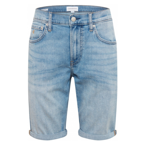 Calvin Klein Swimwear Jeansy niebieski denim