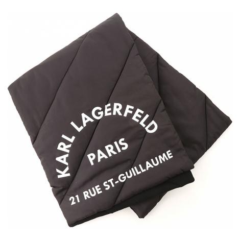 Karl Lagerfeld Szalik Damski, czarny, Poliester, 2021