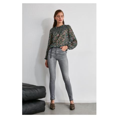 Spodnie damskie Trendyol High Waist