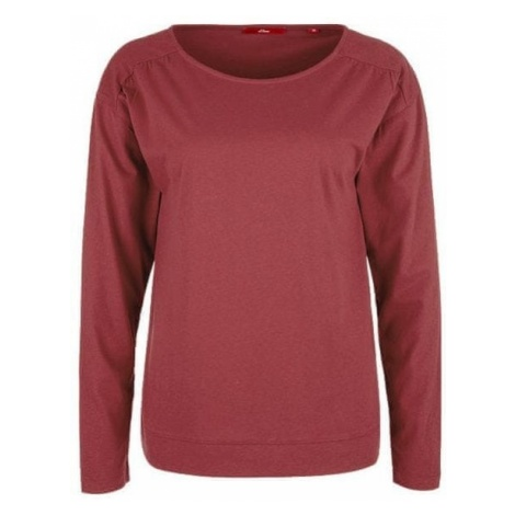 s.Oliver bluzka damska czerwona