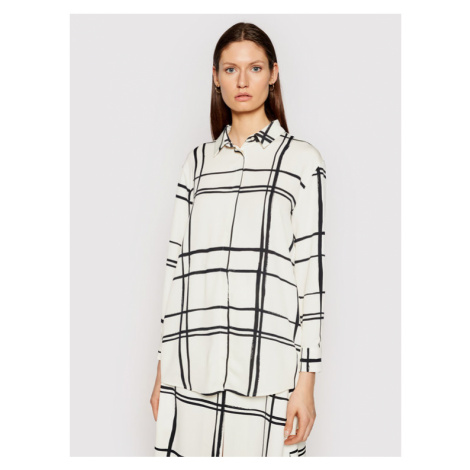 Marella Koszula Neo 31910411 Beżowy Straight Fit