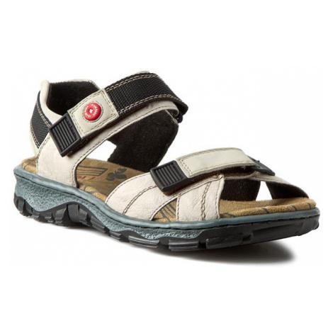 Sandały RIEKER - 68851-60 Beige