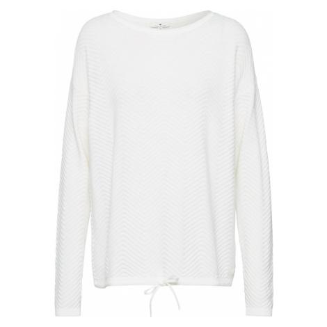 TOM TAILOR Sweter biały