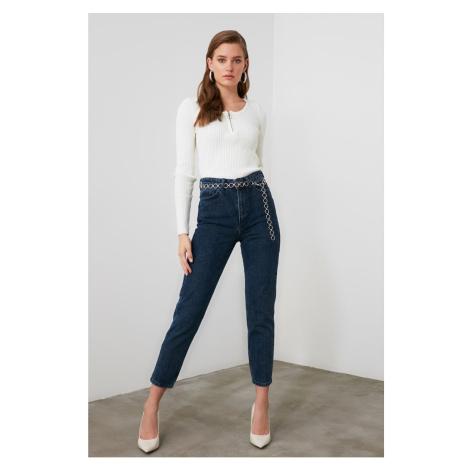 Jeansy damskie Trendyol Mom jeans