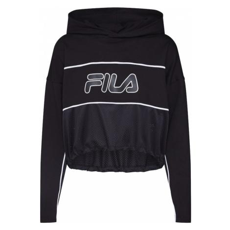 FILA Bluzka sportowa 'ROMY Hooded Shirt' czarny