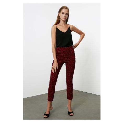Trendyol Red Leopard Pants