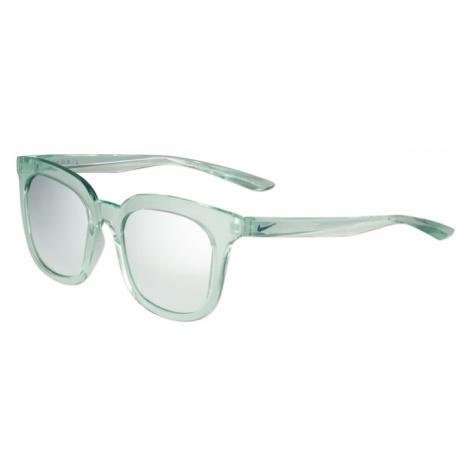 NIKE Sportowe okulary przeciwsłoneczne 'MYRIAD M EV1154' jasnozielony / srebrny