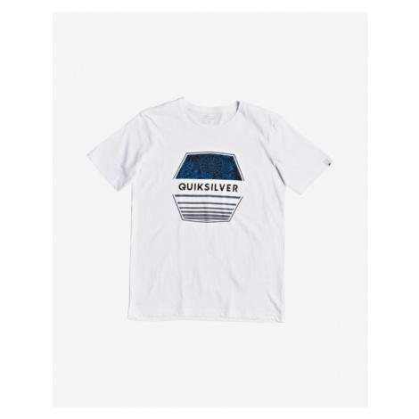 Quiksilver Drift Away Koszulka dziecięce Biały