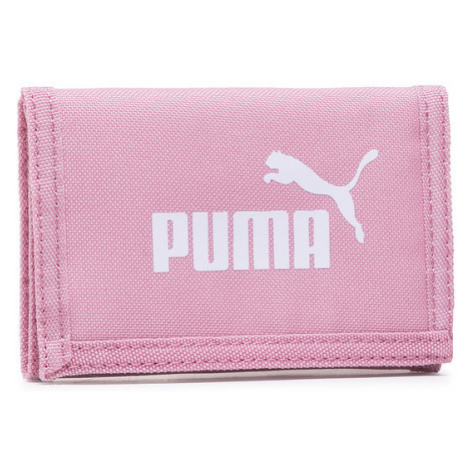 Puma Duży Portfel Damski Phase Wallet 075617 44 Różowy