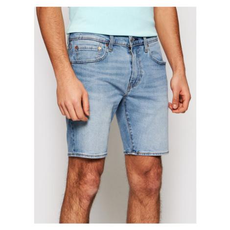 Levi's® Szorty jeansowe 412™ Flex 39387-0019 Niebieski Slim Fit Levi´s