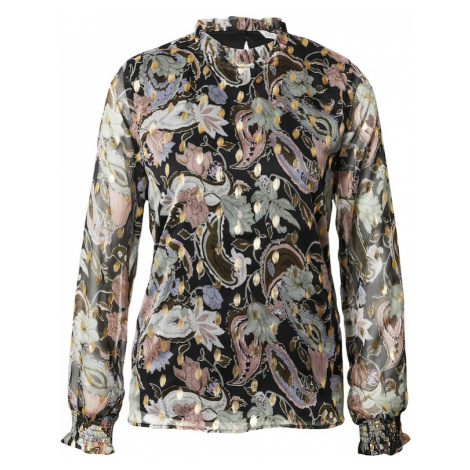 ONLY Bluzka 'Sasha' czarny / mieszane kolory