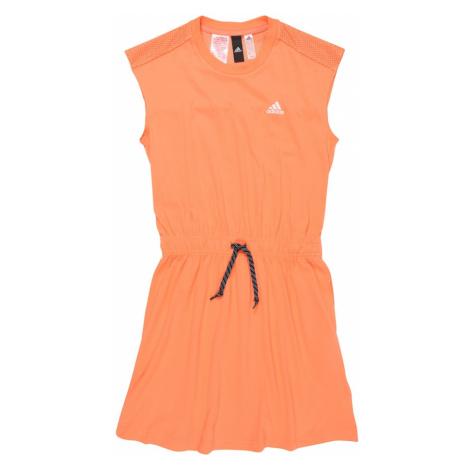 ADIDAS PERFORMANCE Sportowa sukienka pomarańczowy