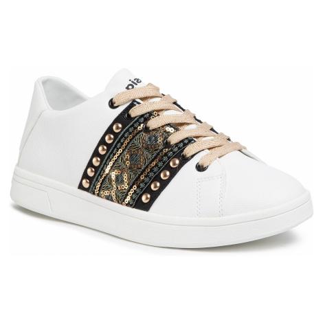 Sneakersy DESIGUAL - Cosmic Exotic Gold 20SSKP28 1000