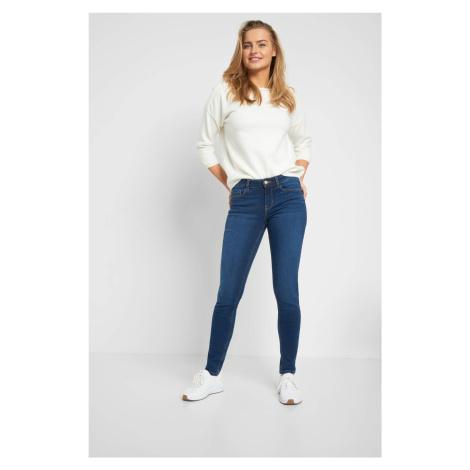 Jeansy skinny regular waist Orsay