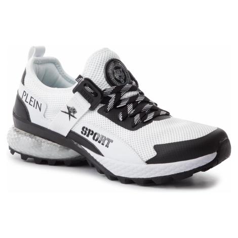 Sneakersy PLEIN SPORT - Runner Tiger P19S MSC2106 STE003N White 01