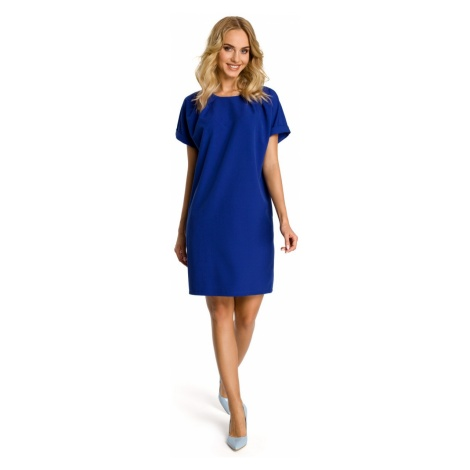 Made Of Emotion Woman's Dress M337 Royal
