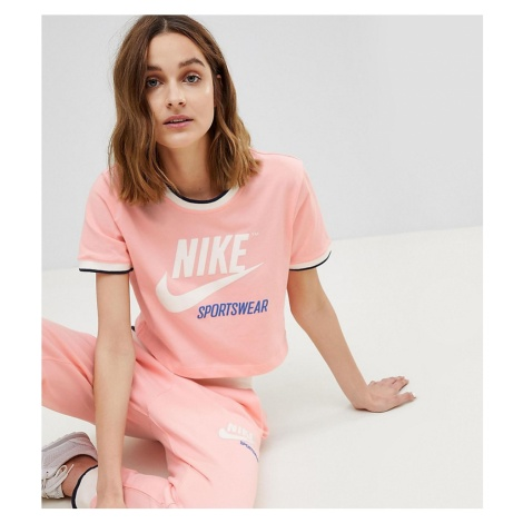 Nike Archive Ringer T-Shirt In Pink