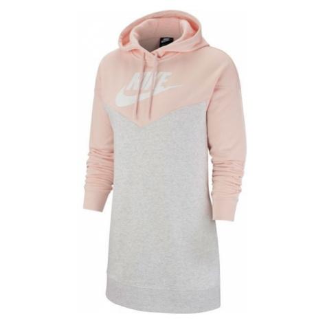 Nike NSW HRTG HOODIE DRESS SB czarny L - Sukienka damska
