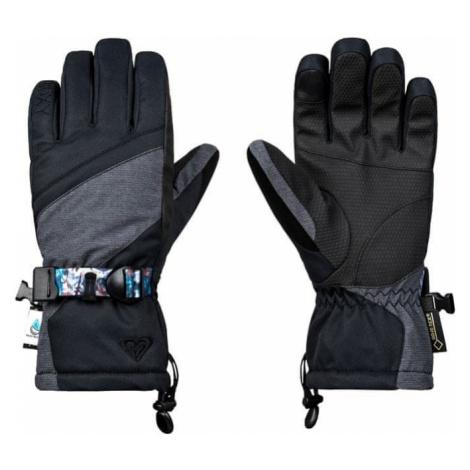 ROXY Damskie rękawiczki Crystal Gloves J Glov Kvj0 Czarny