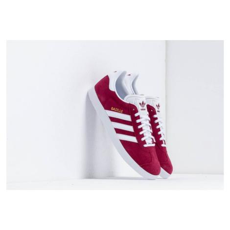 adidas Gazelle Cburgundy/ Ftw White/ Gold Metalic