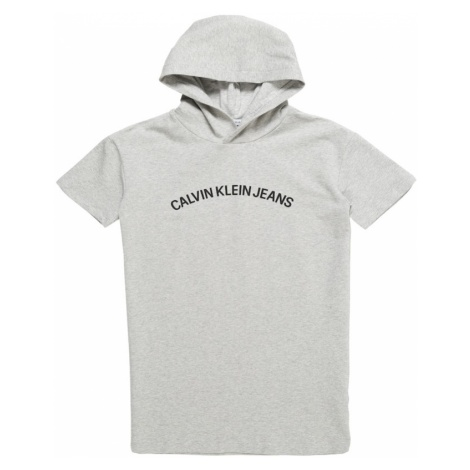 Calvin Klein Jeans Sukienka nakrapiany szary